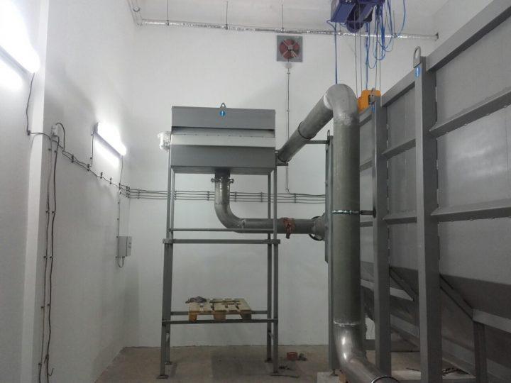 Доставяне на технологичното оборудване на ПСОВ до ключ