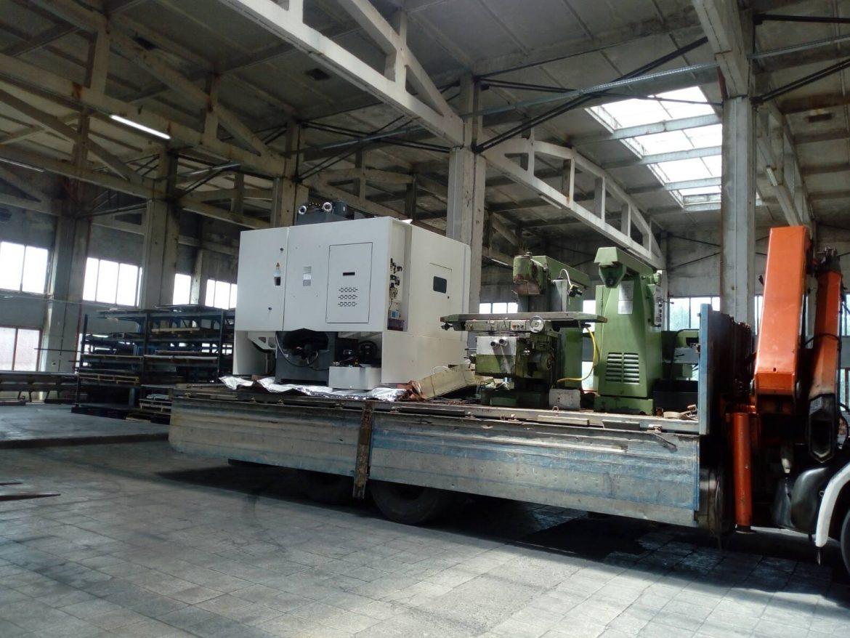 CNC linear machining centre