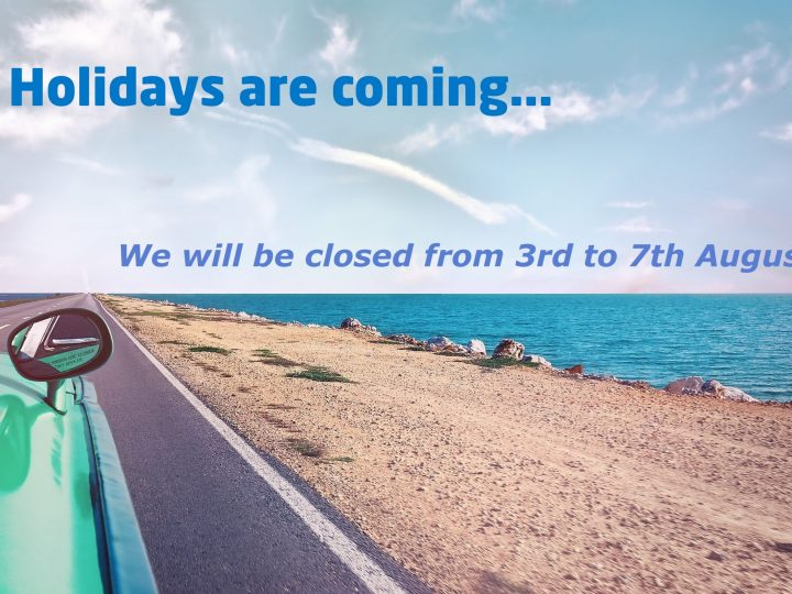 Summer Holidays Closure